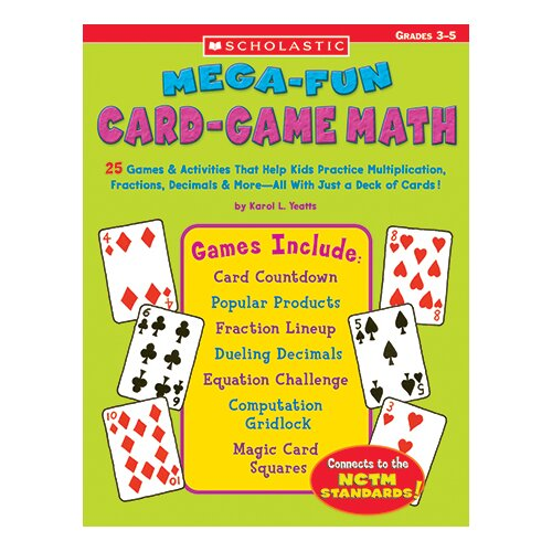 Mega Fun Card Game Math Grs 3-5