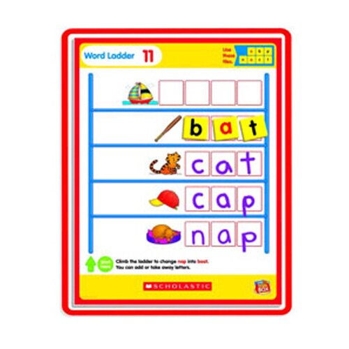Scholastic Little Red Tool Box Magnetic Mats