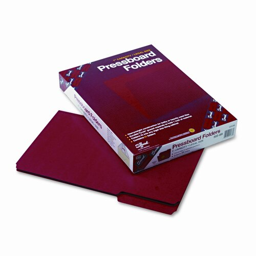 Smead Manufacturing Company 1/3 Top Tab Recycled Folders, 25/Box