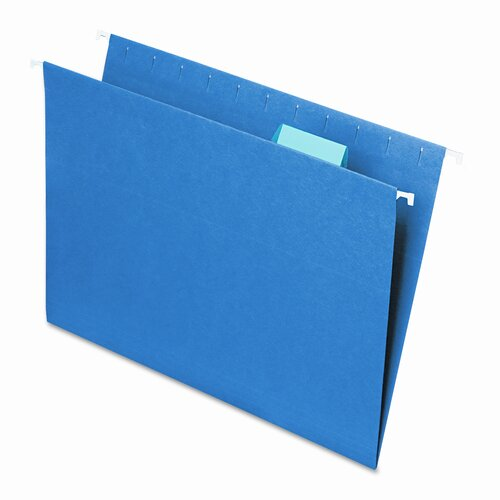 Smead Manufacturing Company 11 Point Stock Hanging File Folders, 25/Box
