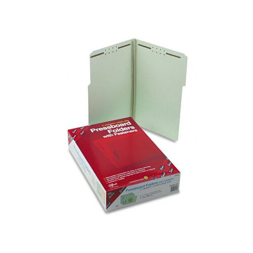 Smead Manufacturing Company 1/3 Top Tab Fastener Folder, 25/Box