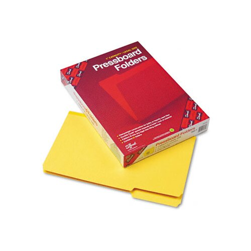 Smead Manufacturing Company 1/3 Cut Top Tab Recycled Folders, 25/Box