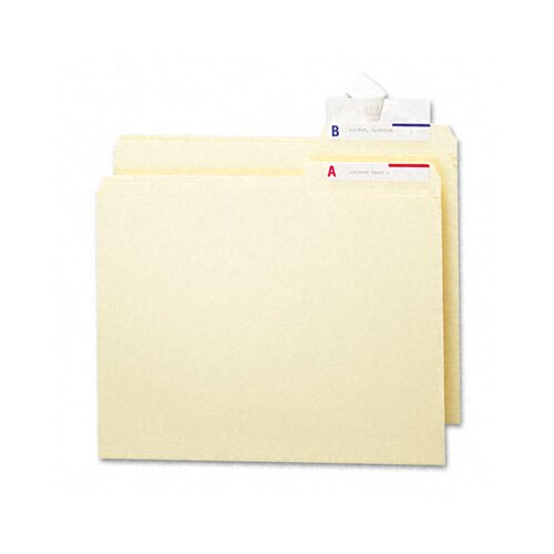 Smead Manufacturing Company Seal & View File Folder Label Protector, 3-1/2X1-11/16, 100/Pack