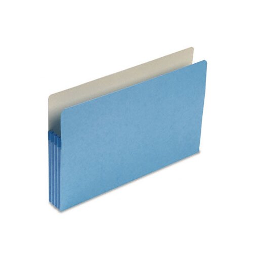 Smead Manufacturing Company 3.5 Inch Accordion Expansion Colored File Pocket, Straight Tab