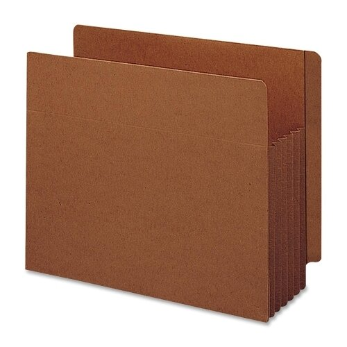"Smead Manufacturing Company 5.25"" Accordion Expansion File Tuff Pockets, 10/Box"