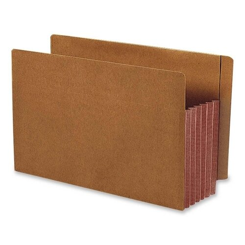 Smead Manufacturing Company 5.25 Inch Accordion Expansion File Pockets Straight Tab, Legal, 10/Box