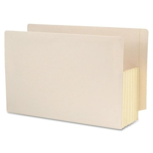 "Smead Manufacturing Company 5.25"" Accordion Expansion Straight Tab File Pocket with Tyvek, 10/Box"