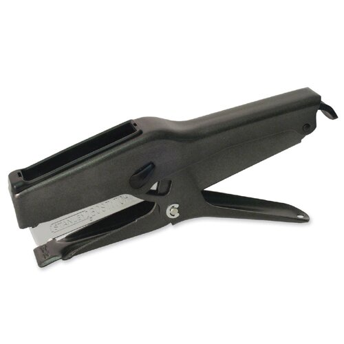 Stanley Bostitch Plier Stapler, 2-45 Sheet Capacity, Uses B8 Staples, Black