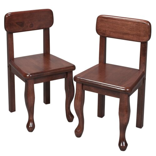 Queen Anne Child's Chair (Set of 2)
