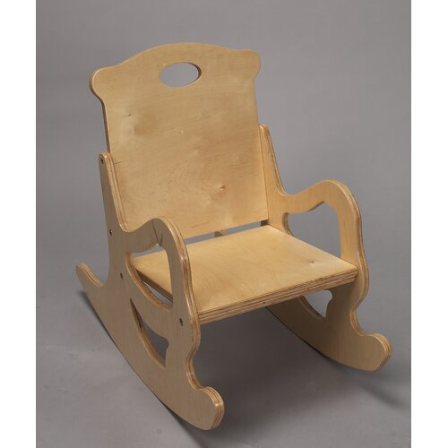 Single Seat Puzzle Kids Rocking Chair