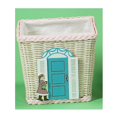 Gift Mark Basket with Doll Shop Motif