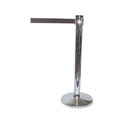 Tatco Adjusta-Tape Crowd Control Stanchion Posts, 2/Box