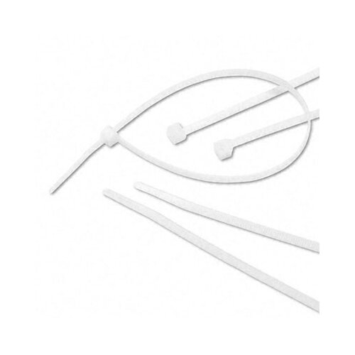 Tatco Tamper-Proof Nylon Cable Ties, 11 x 3/16, 500 Ties