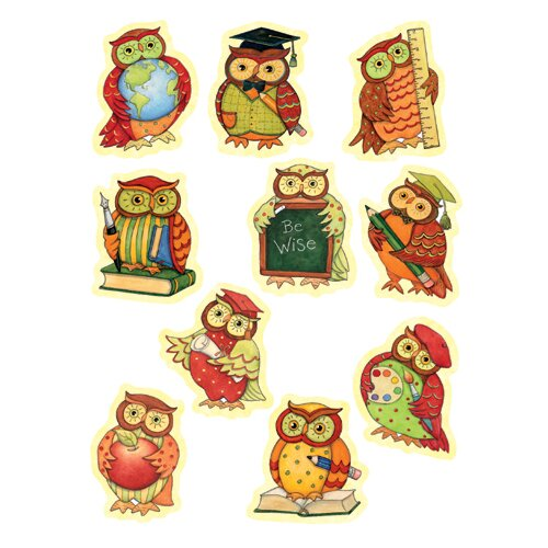 Teacher Created Resources Sw Owl Accents 30 Pk