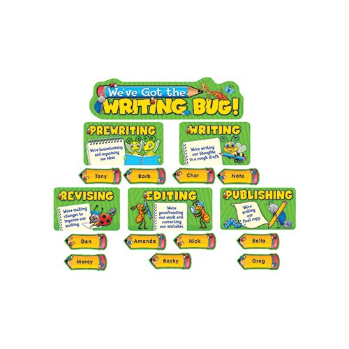 Teacher Created Resources Weve Got The Writing Bug Mini Bb