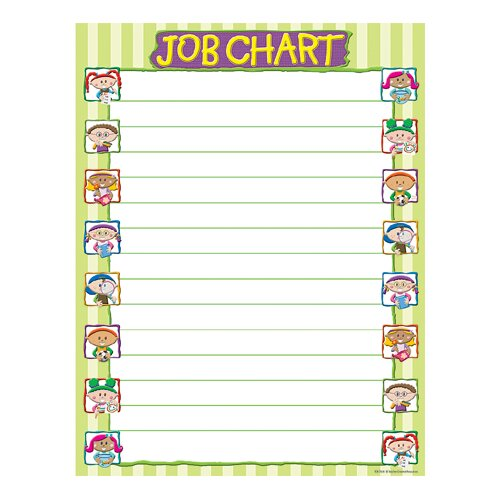 Teacher Created Resources Job Chart