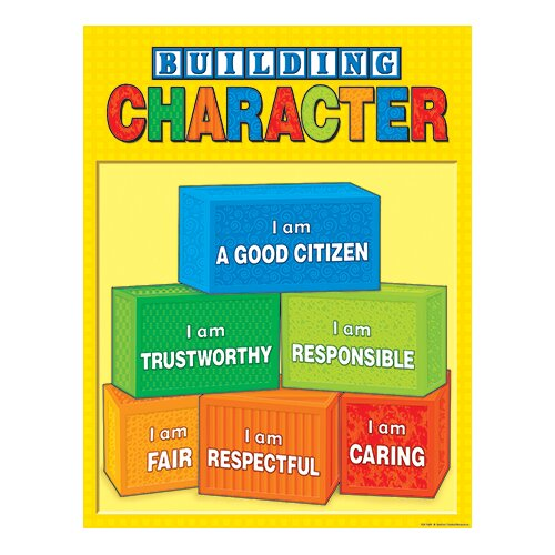 Teacher Created Resources Building Character Chart