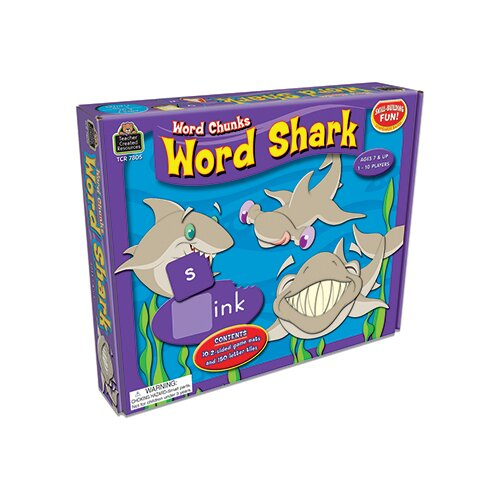 Teacher Created Resources Word Shark Word Chunks Game