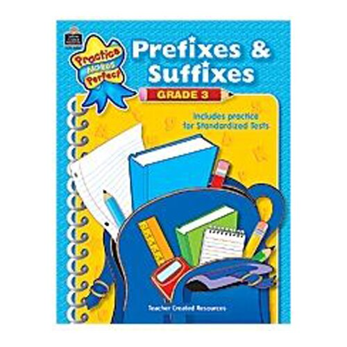 Teacher Created Resources Prefixes And Suffixes Gr 3
