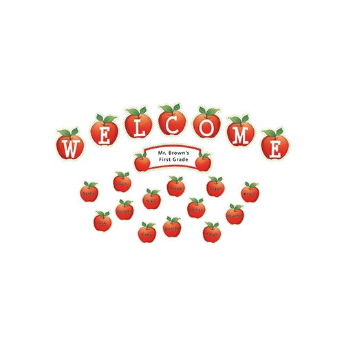 Teacher Created Resources Apples And Dots Welcome Mini Bb Set