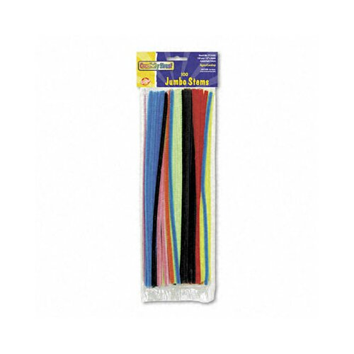 The Chenille Kraft Company Jumbo Stems, 100/Pack