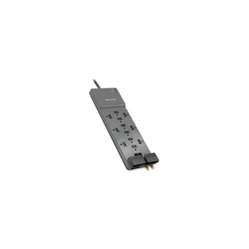 Belkin Professional Series SurgeMaster Surge Protector, 12 Outlets, 10ft Cord