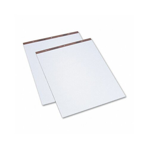 Tops Business Forms Easel Pads, Unruled, 50-Sheet Pads, 2 Pads/Carton