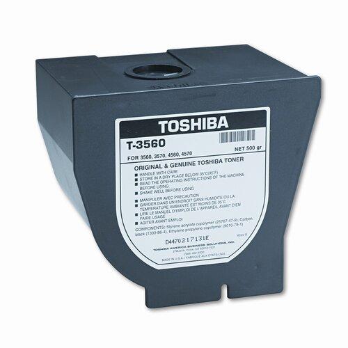 Toshiba T3560 OEM Toner Cartridge, 14000 Page Yield, Black