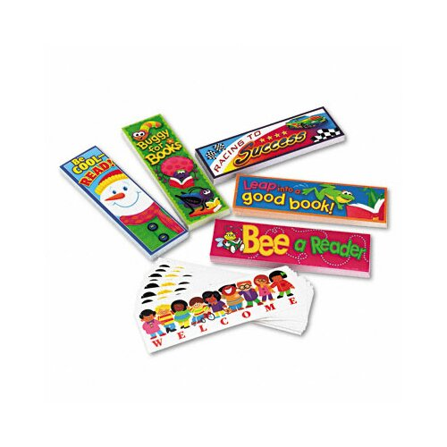 Trend Enterprises Bookmark Combo Packs, Celebrate Reading Variety #1, 216/Pack