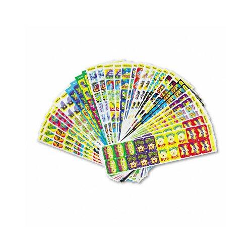 Trend Enterprises Applause Stickers Variety Pack, Great Rewards, 700/Pack