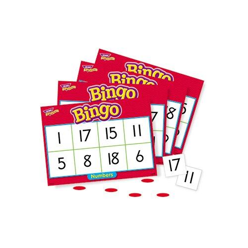 Trend Enterprises Bingo Numbers Ages 4 & Up
