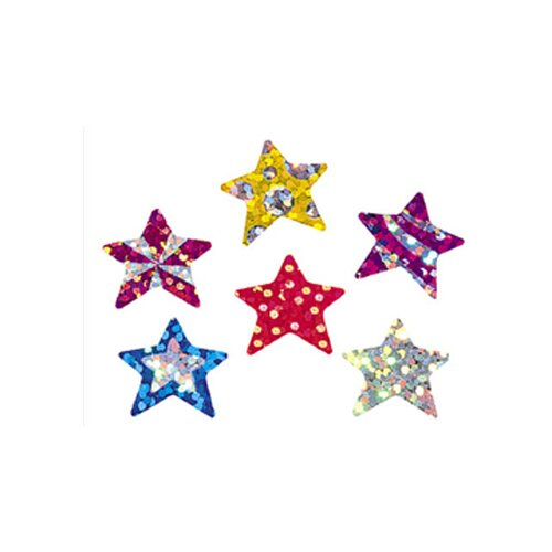 Trend Enterprises Sparkle Stickers Star Brights