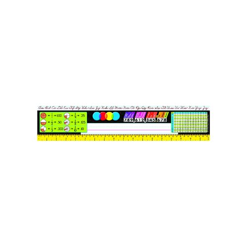 Trend Enterprises Reference Size Name Plates Gr 3-5