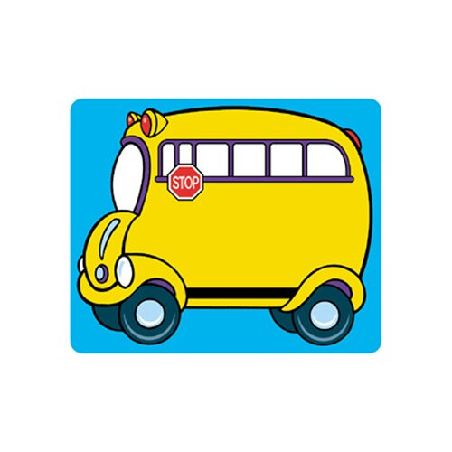 Trend Enterprises Name Tags School Bus 36/pk