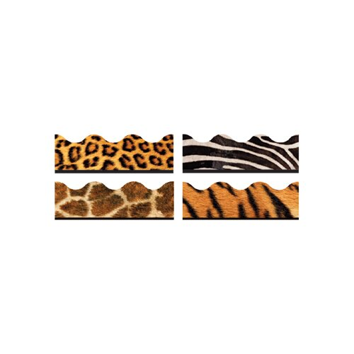 Trend Enterprises Animal Prints Contains T92163