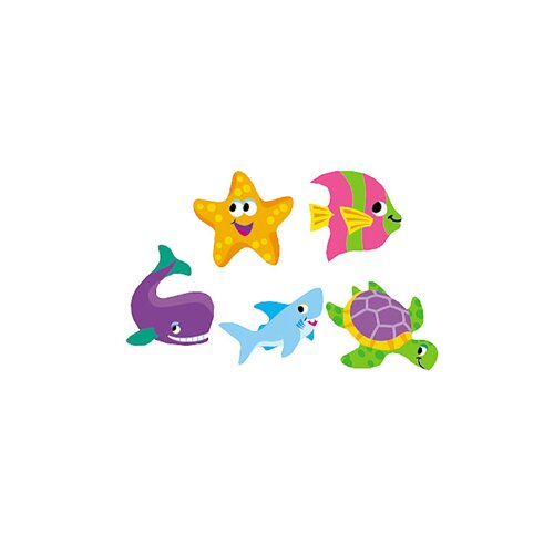 Trend Enterprises Supershapes Sea Life Stickers