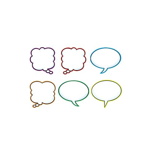 Trend Enterprises Speech Balloons Variety Pk