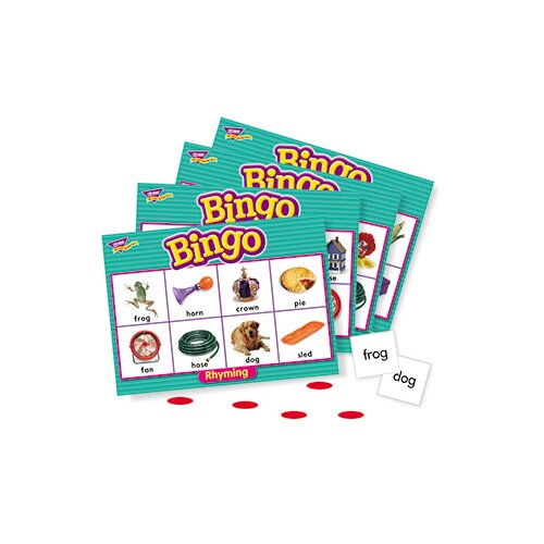 Trend Enterprises Bingo Rhyming Ages 4 & Up