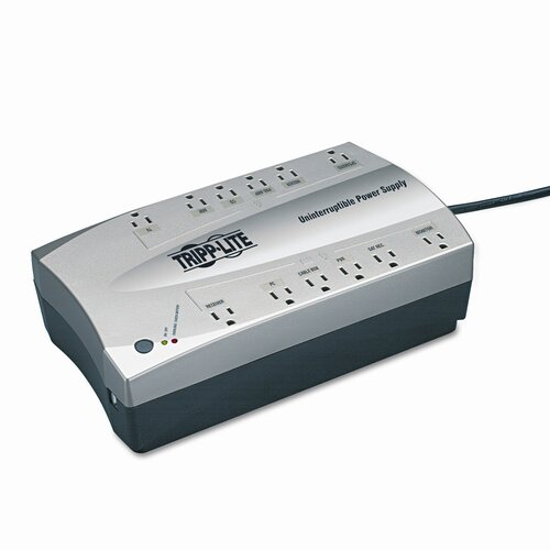Tripp Lite Home Theater UPS System, Twelve-Outlet 750 Volt-Amps