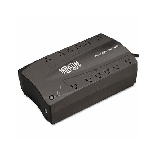 Tripp Lite Avr Series Line Interactive Ups 900Va, 120V, Usb, Rj11, 12 Outlet