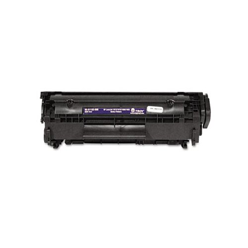 Troy® 0281132500 Compatible MICR Toner, 2,000 Page-Yield, Black