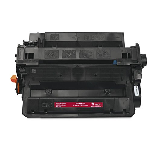 Troy® 0281601001 55X Compatible Toner Secure, High-Yield, 12,500 Pageyield, Black