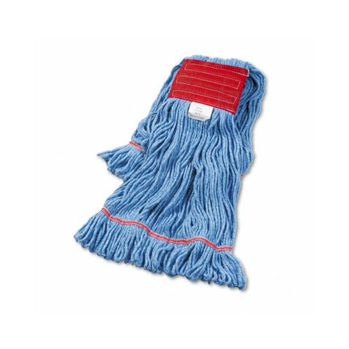 Unisan Super Loop Wet Mop Head, Cotton/Synthetic, Large Size