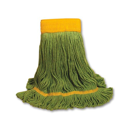 Unisan EchoMop Looped-End Large Mop Head in Green
