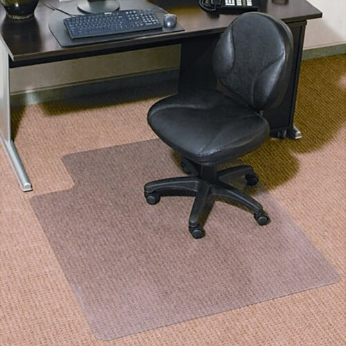 Universal® Low/Medium Pile Carpet Cleated Chair Mat