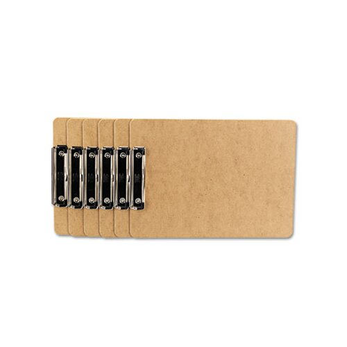 Universal® Clipboard, 6/Pack