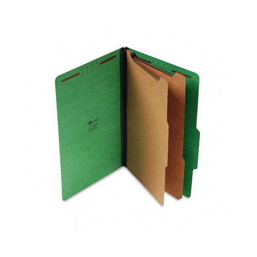 Universal® Pressboard Classification Folders, 10/Box