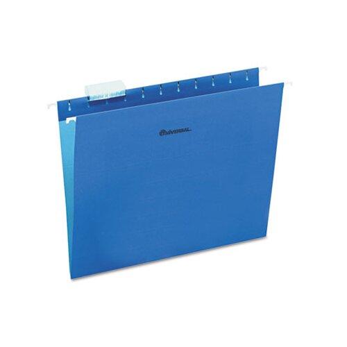 Universal® Hanging File Folders, 25/Box