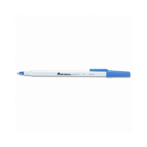 Universal® Economy Ballpoint Stick Oil-Based Pen, 12/Pack