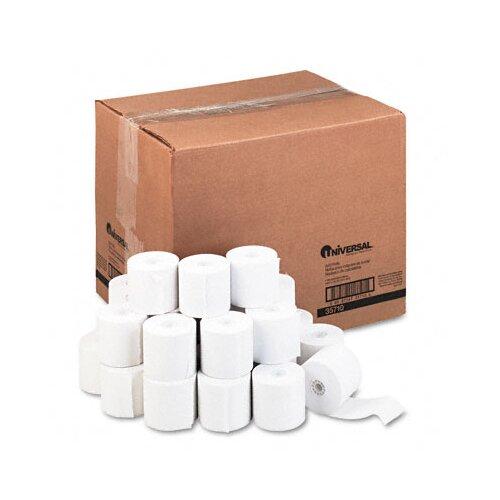 Universal® Adding Machine/Calculator Roll, 100/Carton